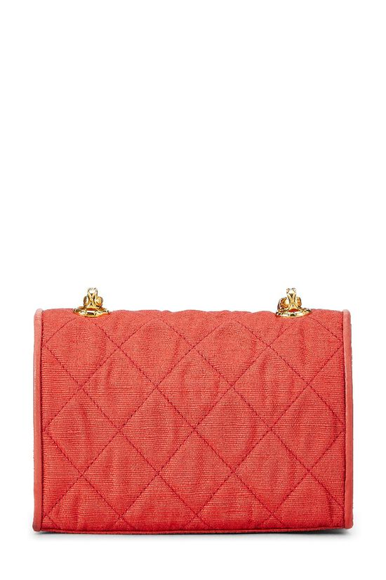 Red Quilted Flower Flap Mini, , large image number 7