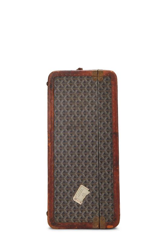 Black Goyardine Coated Canvas Suitcase, , large image number 2
