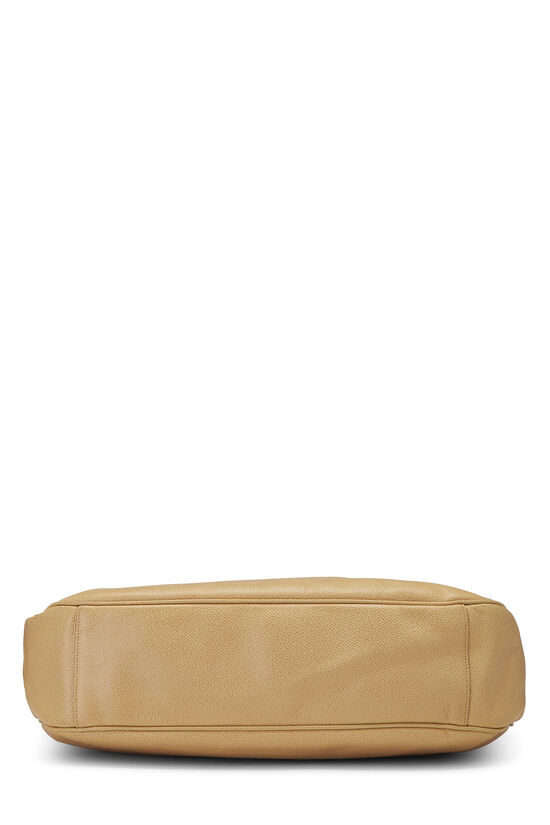 Beige Caviar 'CC' Tote Large, , large image number 4