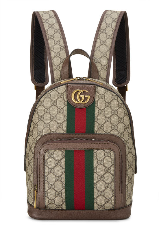 Original GG Supreme Canvas Ophidia Backpack Small, , large image number 0