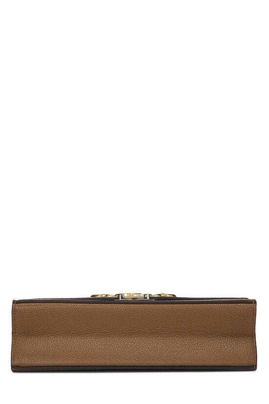 Brown Leather Zumi Shoulder Bag Small, , large image number 5