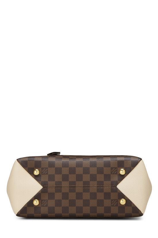 Damier Ebene Canvas & Cream Leather Brittany, , large image number 5