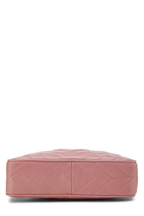 Pink Lambskin Diamond CC Camera Bag Medium, , large image number 5
