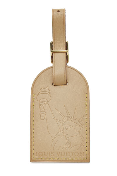 Limited Edition Vachetta NYC Luggage Tag, , large