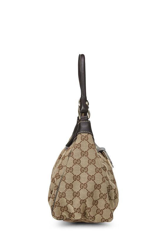 Original GG Canvas Abbey Shoulder Bag, , large image number 2