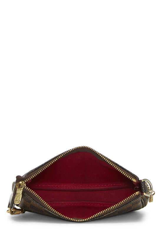 Damier Ebene Pochette Accessoires Mini, , large image number 5