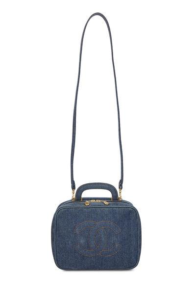 Blue Denim Lunch Box Vanity, , large