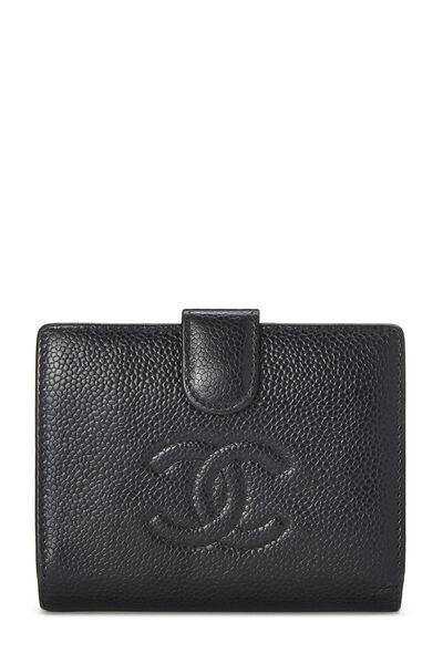 Black Caviar 'CC' Compact Wallet