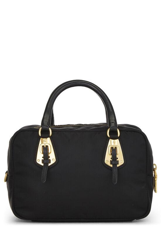 Black Tessuto Nylon Handbag Mini, , large image number 3