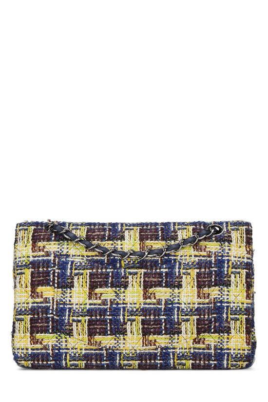Multicolor Tweed Classic Double Flap Medium, , large image number 3