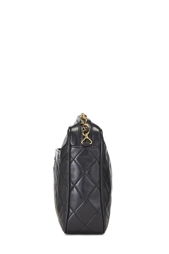Black Lambskin Pocket Camera Bag Medium, , large image number 3