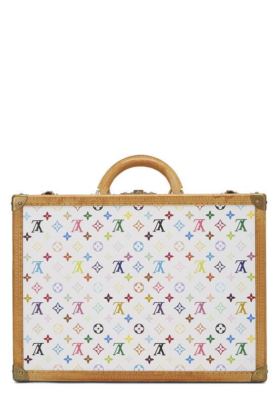 Takashi Murakami x Louis Vuitton White Monogram Multicolore Bisten 50, , large image number 4