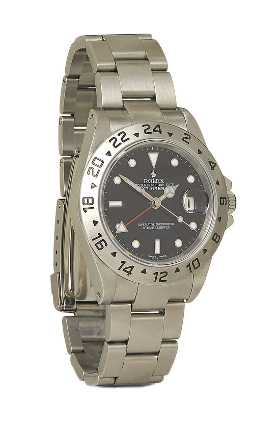 Stainless Steel Explorer II 16570 40mm, , large image number 0