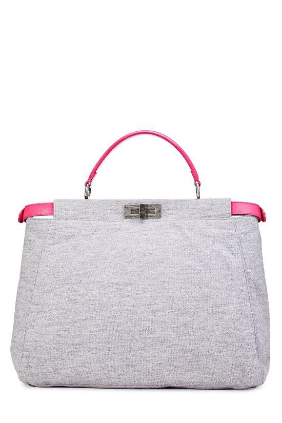 Pink & Grey Jersey Peekaboo, , large image number 3