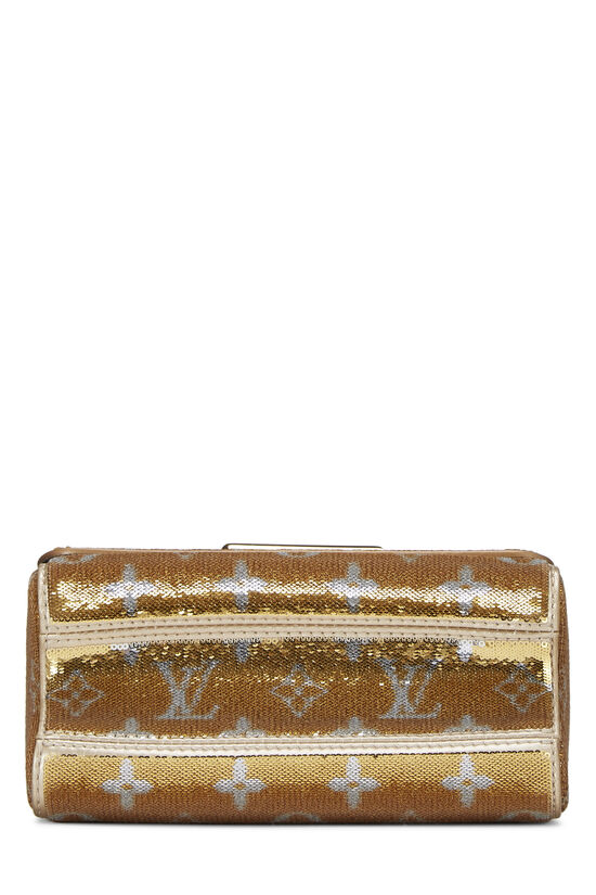 Gold Monogram Sequin Exceptional Twist PM, , large image number 5