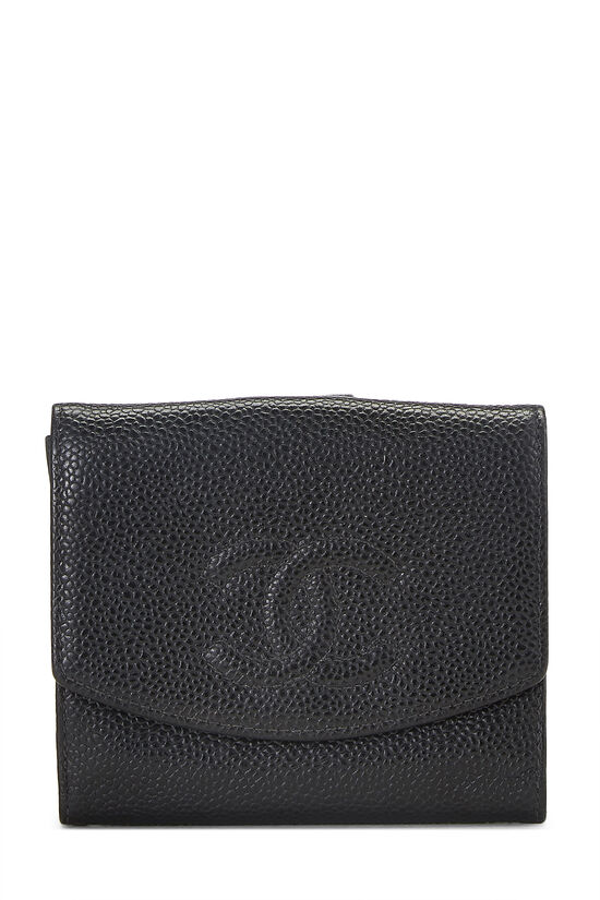 Black Caviar 'CC' Timeless Wallet, , large image number 0