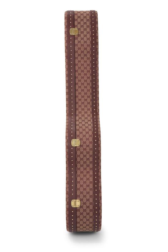 Burgundy GG Canvas Ophidia Guitar Case, , large image number 4
