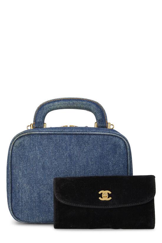 Blue Denim Lunch Box Vanity, , large image number 3