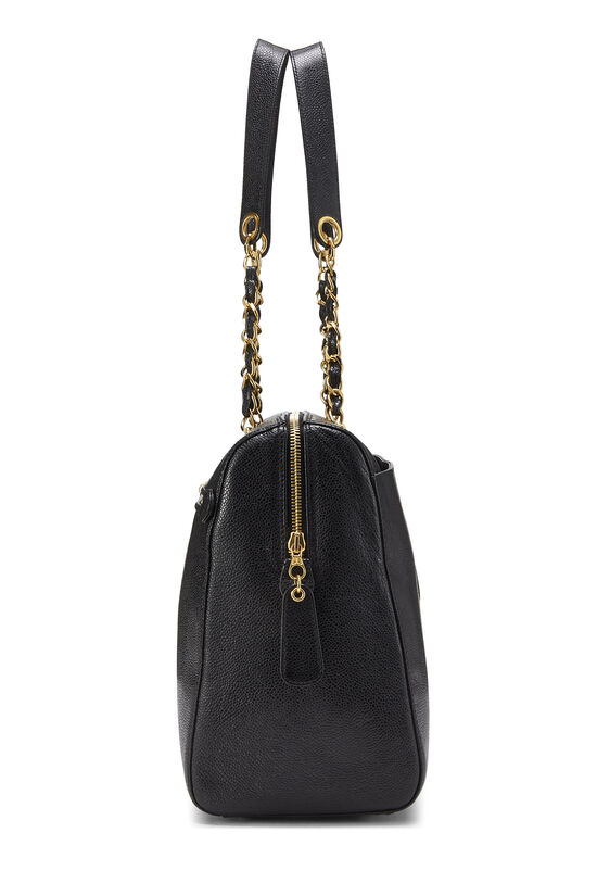 Black Caviar Zip Tote Small, , large image number 2