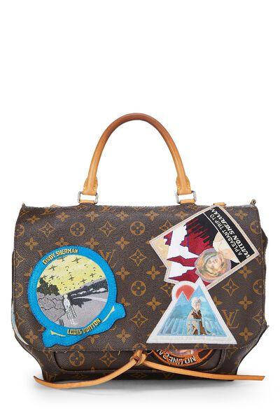 Cindy Sherman x Louis Vuitton Iconoclasts Collection Monogram Canvas Messenger