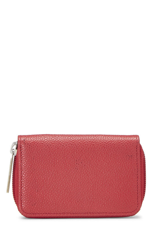 Red Caviar 'CC' Card Case, , large image number 2