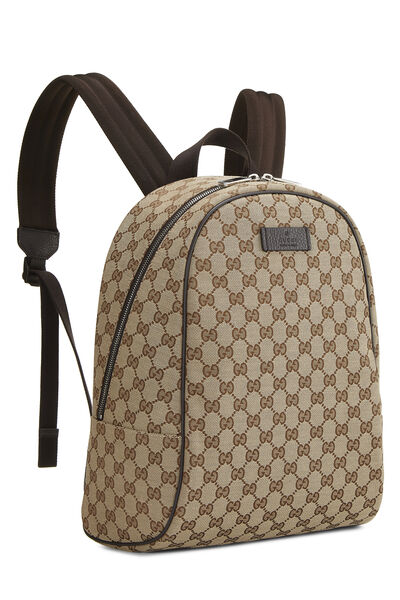 Original GG Canvas Backpack, , large