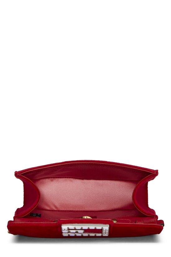 Red Velour Broadway Crossbody Mini, , large image number 5