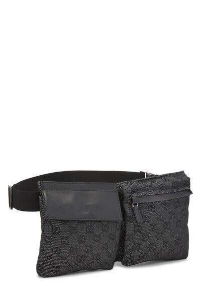 Black Original GG Canvas Belt Bag, , large