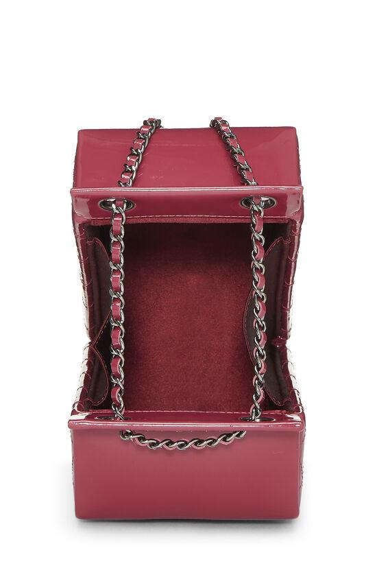 Pink Patent Leather Milk Carton Bag, , large image number 5