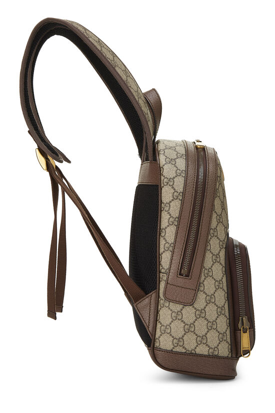 Original GG Supreme Canvas Ophidia Backpack Small, , large image number 2