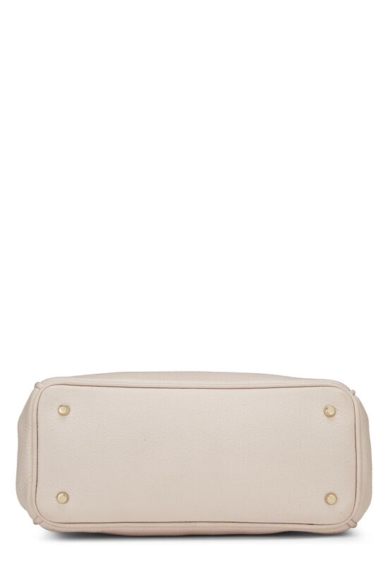 Pink Calfskin Diorissimo Handbag Mini, , large image number 4