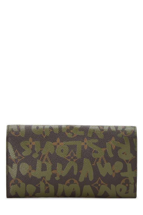 Stephen Sprouse x Louis Vuitton Green Monogram Graffiti Sarah, , large image number 2