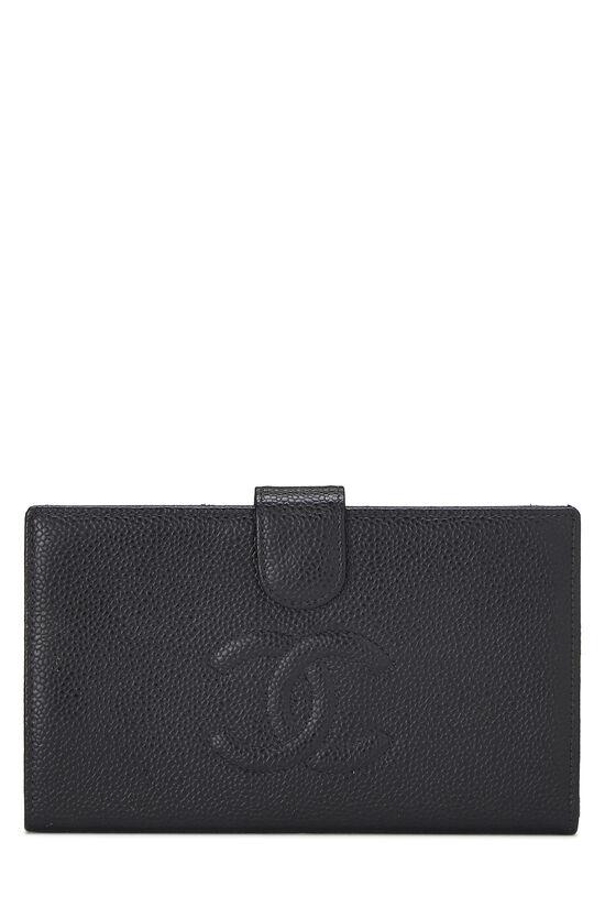 Black Caviar Timeless 'CC' Wallet, , large image number 0