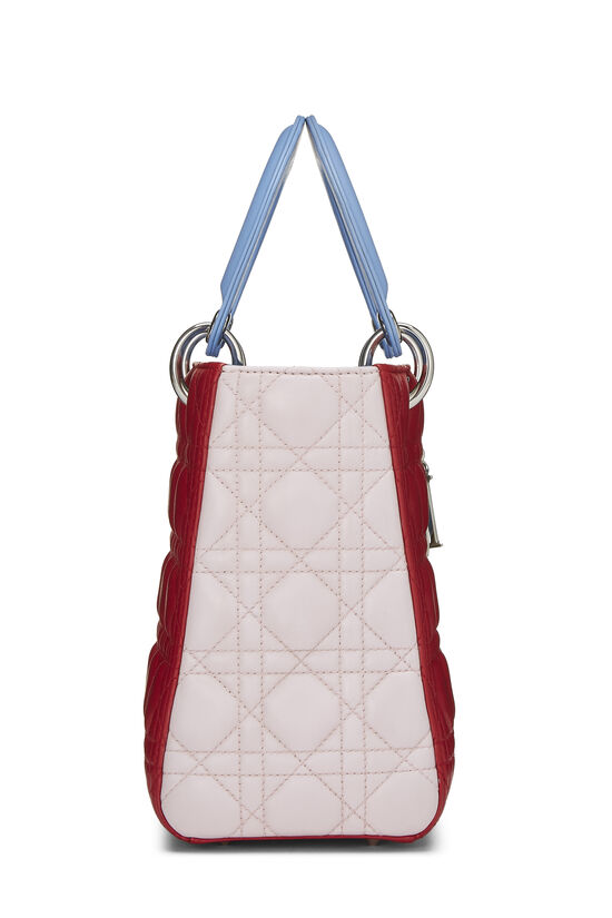 Multicolor Cannage Quilted Lambskin Lady Dior Medium, , large image number 2