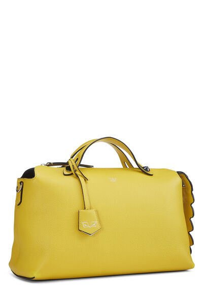 Yellow Leather By The Way Medium, , large