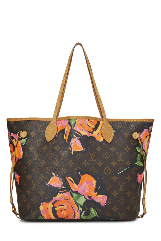 Stephen Sprouse x Louis Vuitton Monogram Canvas Roses Neverfull MM, , large image number 0
