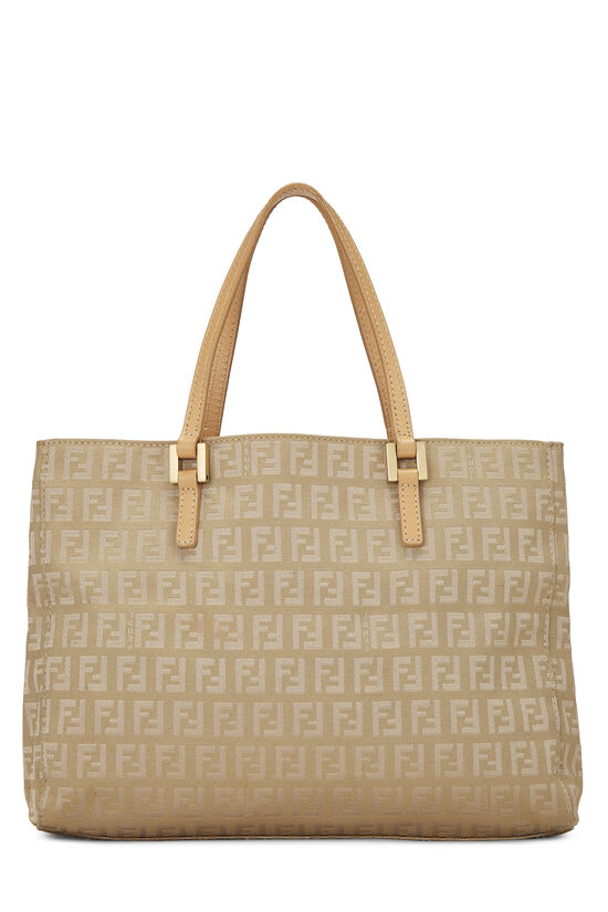 Beige Zucchino Canvas Shopping Tote Small, , large image number 0