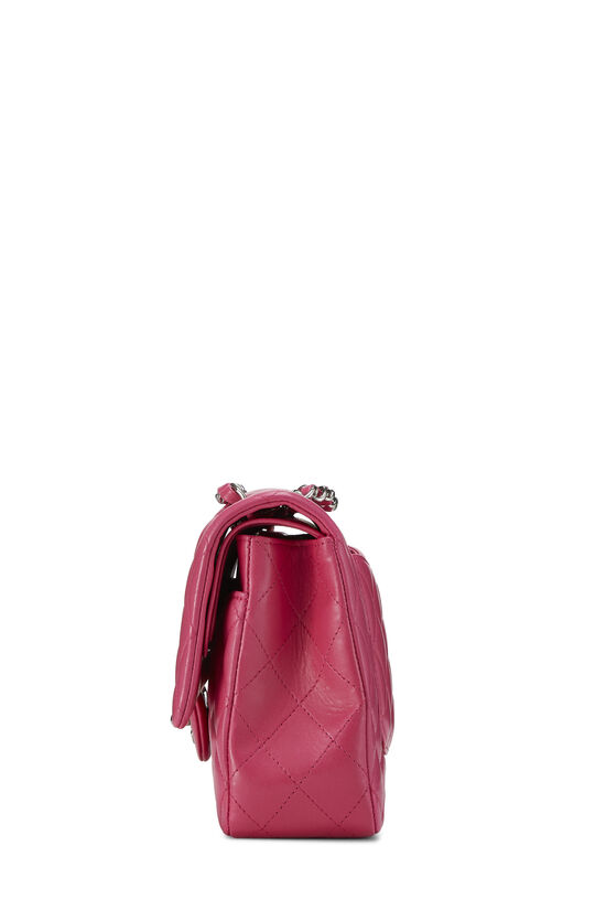 Pink Quilted Lambskin Classic Double Flap Medium, , large image number 2