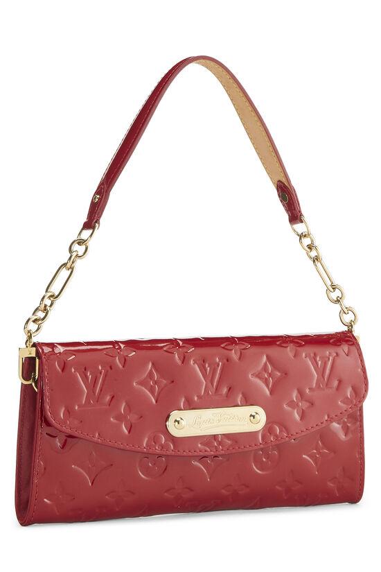 Cerise Monogram Vernis Sunset Boulevard Shoulder Bag, , large image number 1