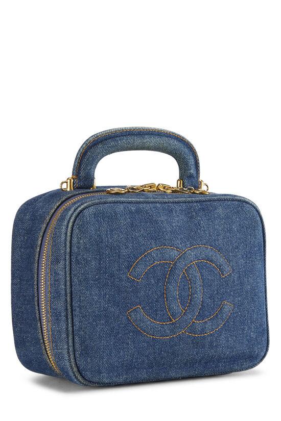 Blue Denim Lunch Box Vanity, , large image number 1