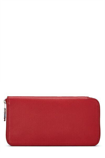 Rouge Casaque Epsom Silk-In Azap Wallet