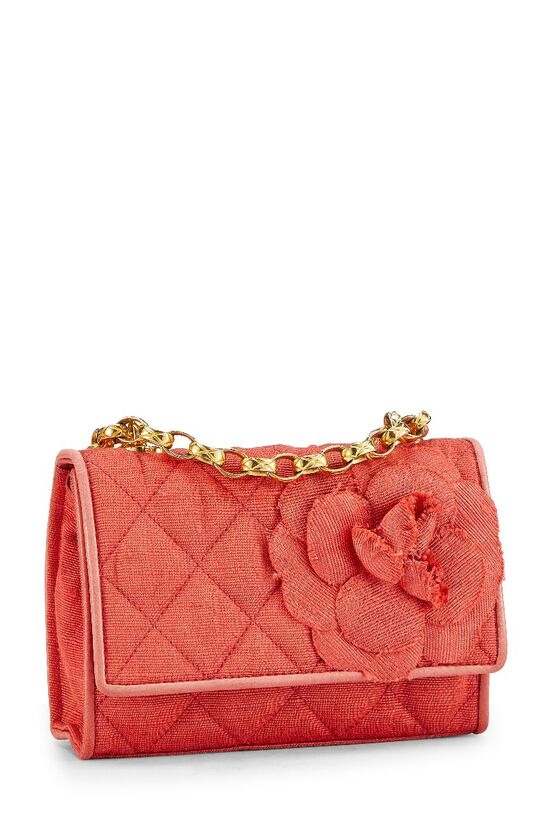 Red Quilted Flower Flap Mini, , large image number 3