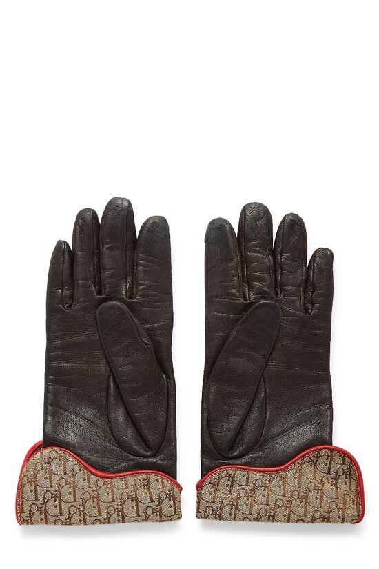 Brown Lambskin Rasta Gloves, , large image number 1