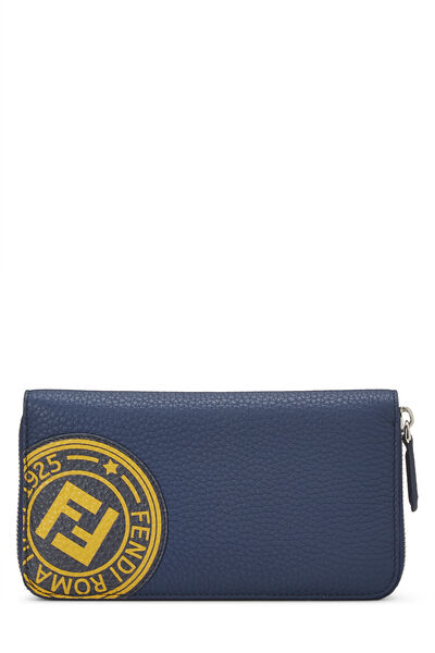 Navy Leather Forever Wallet
