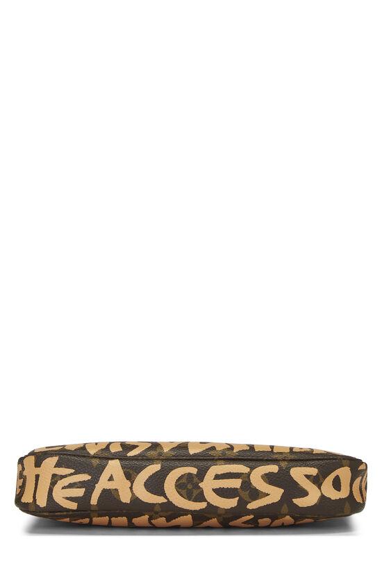 Stephen Sprouse x Louis Vuitton Beige Graffiti Pochette Accessoires, , large image number 4