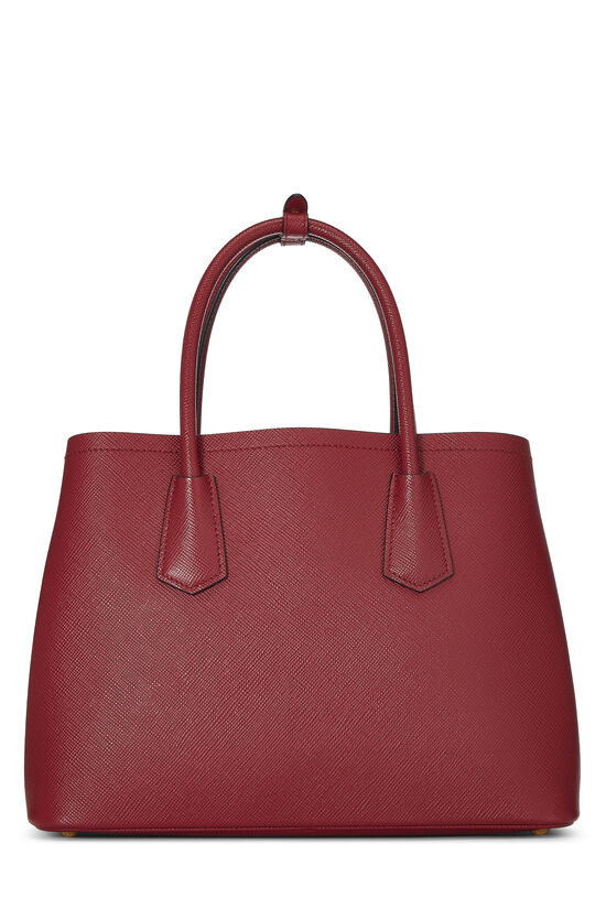 Red Saffiano Double Bag Small, , large image number 3