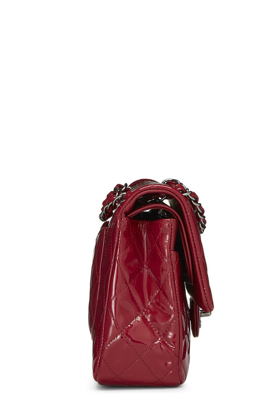 Red Quilted Patent Leather Classic Double Flap Medium, , large image number 2