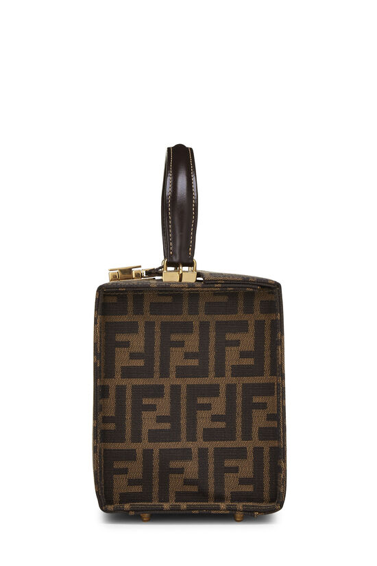 Brown Zucca Canvas Box Vanity, , large image number 3