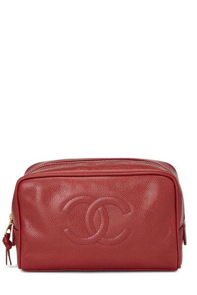 Red Caviar Timeless Cosmetic Pouch