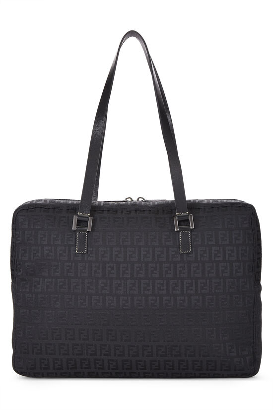 Black Zucchino Canvas Tote Small, , large image number 0
